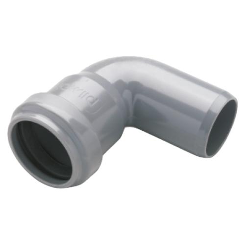 PVC lefolyóív 50×90°