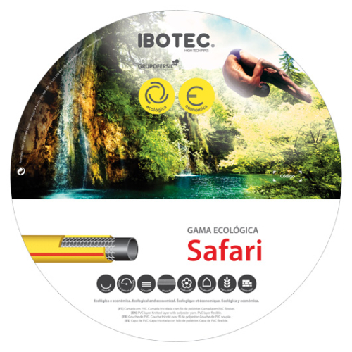 "IBOTEC SAFARI, 3/4"" - 25m/tekercs"