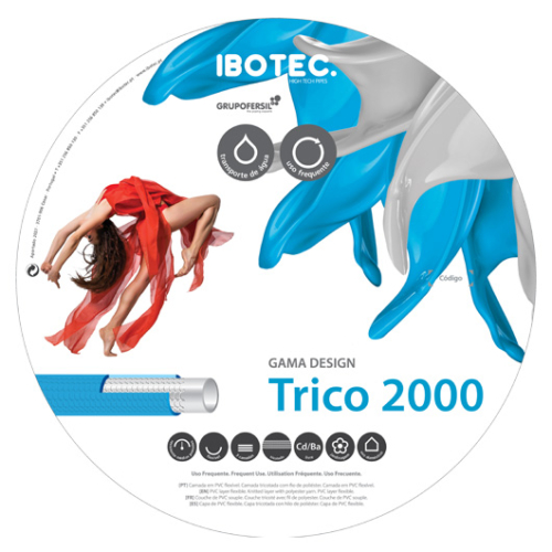 """IBOTEC TRICO 2000, 1"""" - 50m/tekercs"""